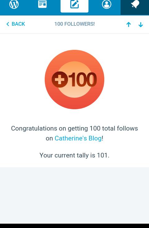 100 Followers & NewBeginings