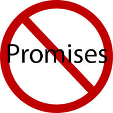 I Won't Make Any Promises| Daily Prompt